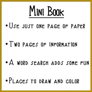 Landforms:  Shapes and Kinds of Land PLATEAU Mini Book