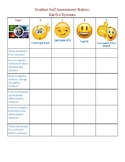 Earth's Systems Self Assessment Rubric