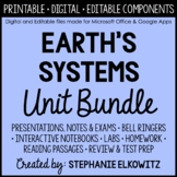 Earth's Systems Unit Bundle