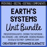 Earth's Systems Unit Bundle