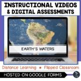 Earth's Water Instructional Videos & Digital Assessment -