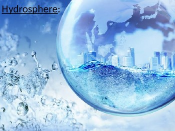 Power Point Hydrosphere, Desalination, Water Filtering-NGSS Earth's Systems