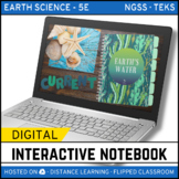 Earth's Waters DIGITAL NOTEBOOK - Google Classroom / Dista