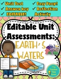 Earth's Waters Unit Assessment and Reflection Activity