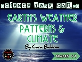 Earth's Weather Patterns & Climate Science Task Cards (6th Gr UT SEEd Aligned)