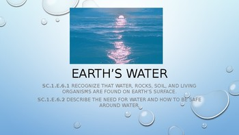 Earth's water