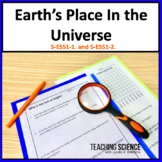 Earth's Place in the Universe 5th Grade NGSS 5-ESS1-1 and 5-ESS1-2