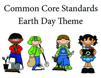 EarthDay 1st grade English Common core standards posters
