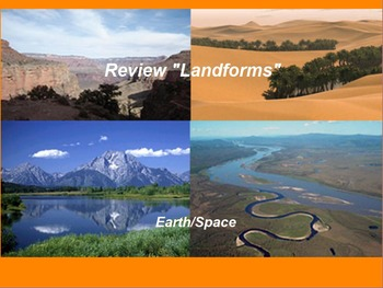 "Earth/Space ActivInspire Review Lesson I ""Landforms"""