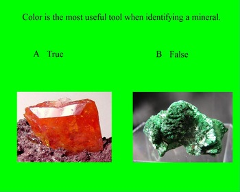 "Earth/Space ActivInspire Review Lesson I and II ""Introduction to Minerals"""