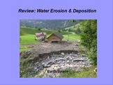 "Earth/Space ActivInspire Review Lesson IV ""Water Erosion and Deposition"""