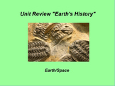 """Earth/Space ActivInspire Unit Assessment Review """"Earth's History"""""""