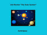 """Earth/Space ActivInspire Unit Assessment Review """"The Solar System"""""""