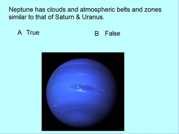 "Earth/Space ActivInspire Unit Assessment Review ""The Solar System"""