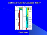 """Earth/Space Lesson I PowerPoint """"Life and Geologic Time"""""""
