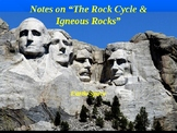 "Earth/Space Lesson I PowerPoint ""Rock Cycle and Igneous Rocks"""
