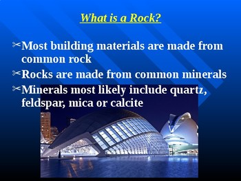 """Earth/Space Lesson I PowerPoint """"Rock Cycle and Igneous Rocks"""""""