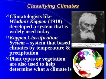 "Earth/Space Lesson II PowerPoint ""Climate Types"""