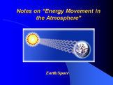 """Earth/Space Lesson II PowerPoint """"Energy Movement in the A"""