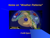 "Earth/Space Lesson II PowerPoint ""Weather Patterns"""