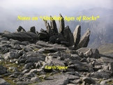 """Earth/Space Lesson III PowerPoint """"Absolute Ages of Rocks"""""""