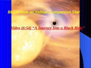 "Earth/Space Lesson III Powerpoint ""Stellar Evolution"""