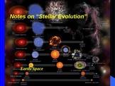 "Earth/Space Lesson III Powerpoint ""Stellar Evolution"""