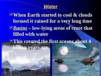 "Earth/Space Lesson I PowerPoint ""Ocean Water"""