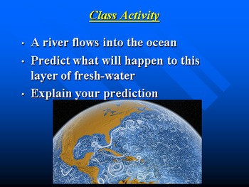 "Earth/Space Lesson II PowerPoint ""Ocean Currents"""