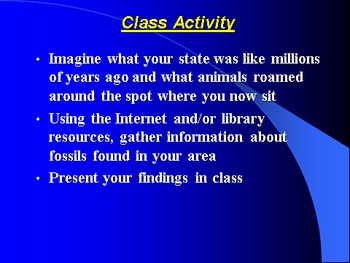 """Earth/Space Lesson III PowerPoint """"Middle and Recent Earth History"""""""