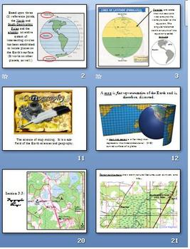 Earth/Space Science - Maps Power Point - Keene
