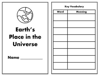 Earth/Space Writing Journal