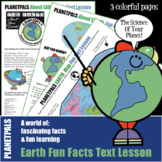 Earth Day Everyday Earth Science Fun Facts Lesson World Map