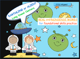 Earthling or Alien Real and Nonsense Word Long Vowel Centers