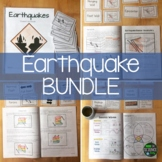 Earthquake BUNDLE (Now with Student Workbook!!)