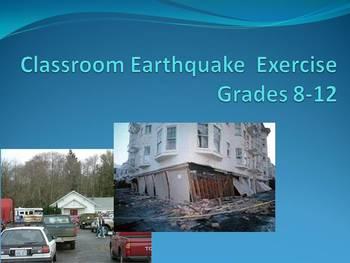 Earthquake Classroom Exercise