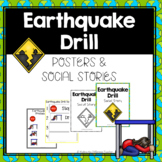 Earthquake Drill Procedures & Routines- Visuals, Posters, & Social Stories