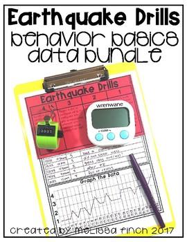 Earthquake Drills- Behavior Basics Data Bundle
