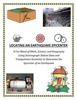 Plate Tectonics: Earthquake Epicenter LAB (Kids LOVE this one!)