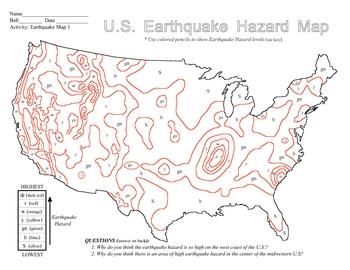 Earthquake Hazard Map 1 SURFFDOGGY