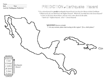 Earthquake Hazard Map 2 SURFFDOGGY