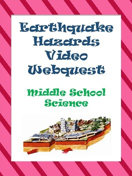 Earthquake Hazards Video Webquest