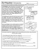 Earthquake Introduction and Famous Quakes!