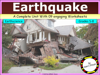 Earthquake - Its causes and effects (with various terminology)