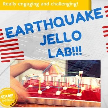Earthquake Jello Lab Activity STEM