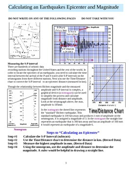 Earthquake Magnitude and Epicenter Lab Part 1 of 5