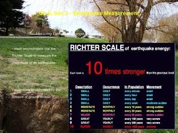 Earthquake Measurement