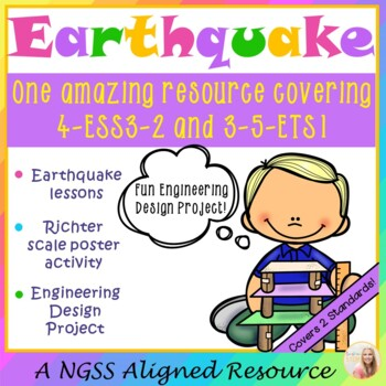 Earthquake! {NGSS Aligned for 4-ESS3-2 & 3-5-ETS1}