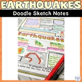 Earthquake Natural Disaster Wild Weather Sketch Note Activity