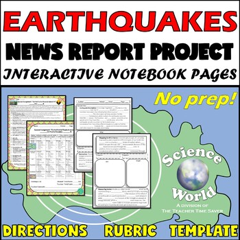 Earthquake News Report Project